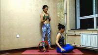 轮瑜伽二级6.热身部分—滚动篇(以改善脊柱灵活性开始)