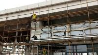 宏铝建材-铝单板幕墙安装中