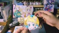 【璃雨】樱子粉福到货【偶像活动周边自制手绘食玩介绍】