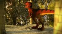 我在恐龙踩踏截了一段小视频