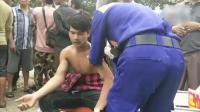 柬埔寨一座大楼坍塌