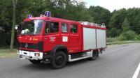 火 +EXPLOSION-14 VERLETZTE GROSSALARM在WESTERBURG