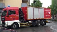 紧急行动 von 消防队和救护车服务在Eschweiler