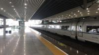 G6021次(长沙南站—深圳北站)本务广州动车段CRH3C-3039+3052停靠广州南站