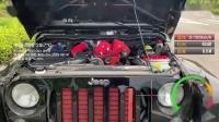 牧马人VT双螺杆机械增压百公里加速测试,6.38秒