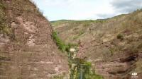 云南楚雄永仁双沟三潭瀑布,可惜去的不是时候,今年天干水太少。