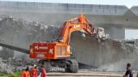 CAT日立利勃海尔挖掘机施工