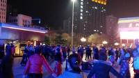 市民广场锅装练舞