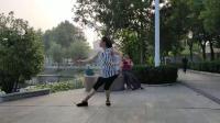 (2)蝶舞仙子团扇舞《雨中花》背面习舞2019年6月26日
