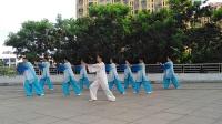 期未习练56式传统杨式太极拳