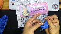 马老师创意编织 《舞扇 》围巾教学视频