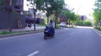 【摩托车杂志】车评:雅马哈巡鹰125,用后座征服小姐姐!