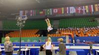 2019年 世青赛 赛台训练 Sydney Barros 跳马
