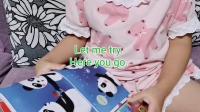 20190628~Linda~6岁~Day973: Flower bubbles【中国少年英语报】2019.06