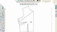 2、直襟或斜襟的绘图方法