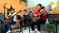 风尚吉他十里校区小组课堂重奏练习:《虫儿飞
