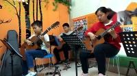 风尚吉他十里校区小组课堂重奏练习:《在水一
