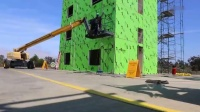 轻钢房屋抗震测试