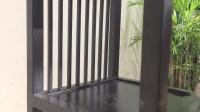 尚木元素 花架实木置物架客厅新中式花几多层阳台落地木质家用花架