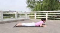 大家都听说过小燕子飞飞,来看看瑜伽老师分享的蝗虫式瑜伽吧_标清