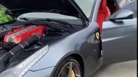 2014款法拉利FF 6.3L/V12,灰色,红内,双门四座超跑,自然吸,7挡双离合,前置四驱,适时四驱,多片离合器,陶瓷刹车系统,信13725725452。