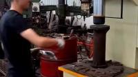 单臂液压机试机视频
