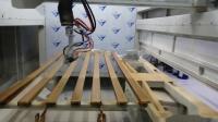 【森联涂装】木线条自动喷漆设备,木门喷涂机