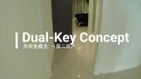 吉隆坡金三角AXON 户型 B 651平方尺/ 60平方米 - 样板间