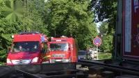 HORNGRUß VOM THW-PEACE VOM GW-L BHP 50 Kreis Lippe wird blockiert 上Alarmfahrt