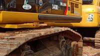 掘信承二手挖掘机市场实拍卡特340