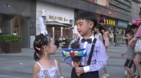 东莞新思路影视大朗盛景汇广场活动  曾家辉《童星童趣》现场采访