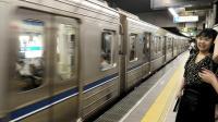 大阪地下铁四桥线到达Y16大国町站