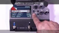 [中字]BOSS RV-500 混响效果器 使用提示 04: 关于沿用