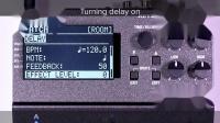 [中字]BOSS RV-500 混响效果器 使用提示 03: 同时使用混响和延迟