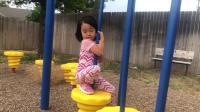 20190706爱玛在小区公园自由的玩