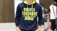 春秋卫衣两件套青少年学生运动服休闲外套韩版潮流连帽套头套装男