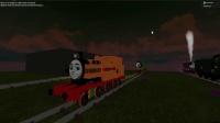 新引擎托马斯和朋友从悬崖上滑下新游戏