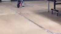 球室踩平衡车
