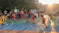 商幼飞人篮球对抗赛