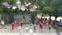 恭城老年大学舞蹈班习舞(我的家乡等你来)乐美广场舞艳子原创编舞