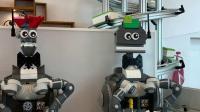比隆lego house的餐厅机器人