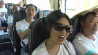 高县师范八六级五班毕业三十周年同学聚会参观向家坝水电站