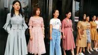 海泉生活广场模特队2019女装秀