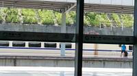 CRH2A-D2361次 南昌西-深圳北 南丰2站台4道进站 和谐号南局昌段