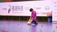 2019.7.26 丽水全国轮滑锦标赛 花式绕桩 少年男子 甲组 小组赛 第2组