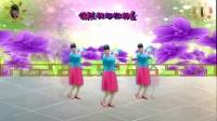 2017最新阳光美梅原创广场舞《缘分让我们在一起》2-中三步附背面演示