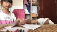 小梦雅小幽梦来玩小伶玩具的3色画画的游戏啦!