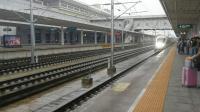 D6854驶入汉中站 CRH380B 8:03