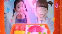 韩国小伶玩具小豆子收银机超市游戏售物扮家家酒贩卖游戏