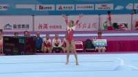 2019年 青运会 团体决赛 高思琪 自由操